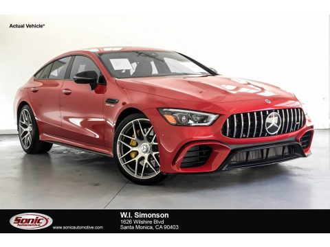 Jupiter Red Mercedes-Benz AMG GT 63.  Click to enlarge.
