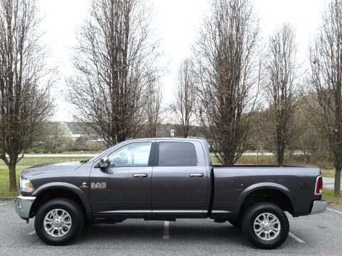 Granite Crystal Metallic Ram 2500 Laramie Crew Cab 4x4.  Click to enlarge.