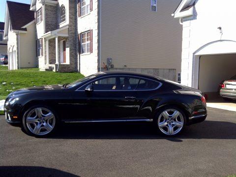 Midnight Emerald Metallic Bentley Continental GT .  Click to enlarge.