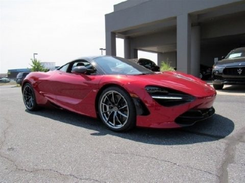 Memphis Red McLaren 720S Performance.  Click to enlarge.