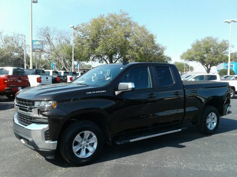 Havana Brown Metallic Chevrolet Silverado 1500 LT Double Cab.  Click to enlarge.