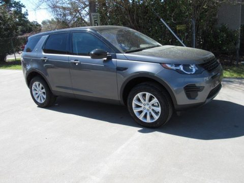 Corris Gray Metallic Land Rover Discovery Sport SE.  Click to enlarge.