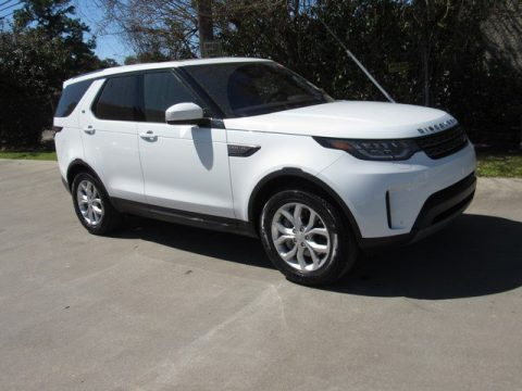 Fuji White Land Rover Discovery SE.  Click to enlarge.