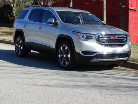 Quicksilver Metallic GMC Acadia SLT.  Click to enlarge.