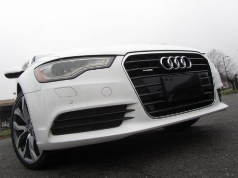 Ibis White Audi A6 2.0T quattro Sedan.  Click to enlarge.