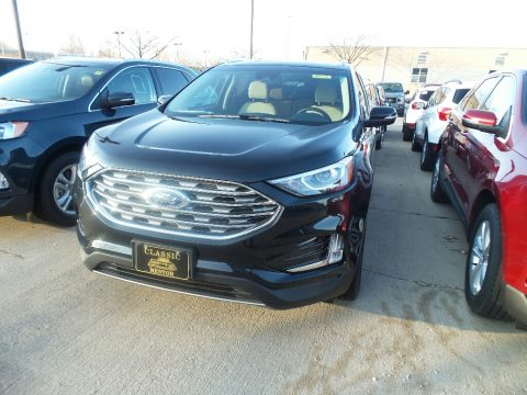 Agate Black Ford Edge SEL AWD.  Click to enlarge.