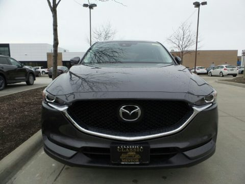 Machine Gray Metallic Mazda CX-5 Touring AWD.  Click to enlarge.
