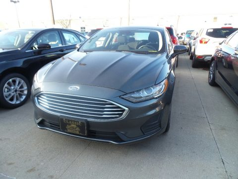 Magnetic Ford Fusion Hybrid SE.  Click to enlarge.