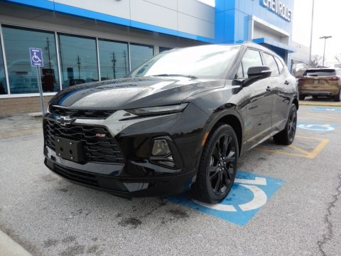 Black Chevrolet Blazer RS AWD.  Click to enlarge.