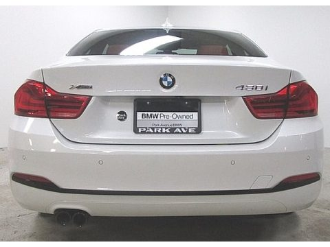 Alpine White BMW 4 Series 430i xDrive Coupe.  Click to enlarge.
