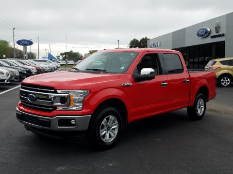 Race Red Ford F150 XLT SuperCrew.  Click to enlarge.