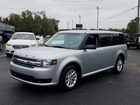 Ingot Silver Ford Flex SE.  Click to enlarge.
