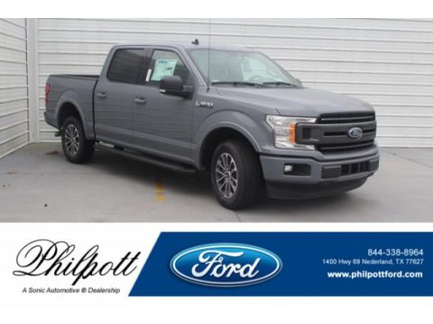 Abyss Gray Ford F150 XLT SuperCrew.  Click to enlarge.