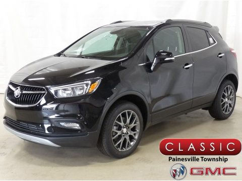 Ebony Twilight Metallic Buick Encore Sport Touring AWD.  Click to enlarge.