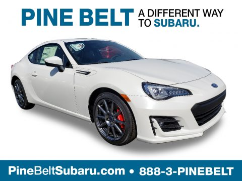Crystal White Pearl Subaru BRZ Limited.  Click to enlarge.