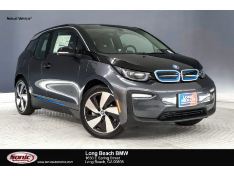 Mineral Grey BMW i3 with Range Extender.  Click to enlarge.