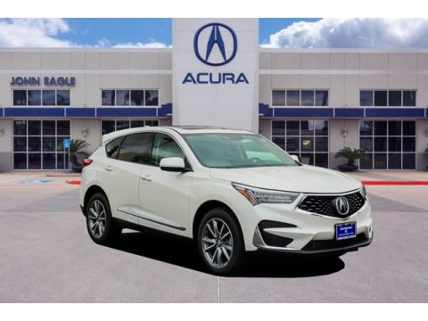 White Diamond Pearl Acura RDX Technology AWD.  Click to enlarge.