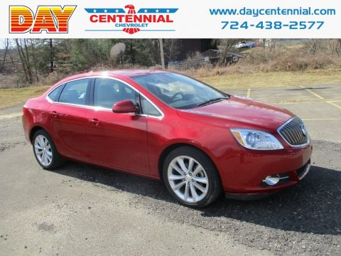 Crystal Red Tintcoat Buick Verano Convenience Group.  Click to enlarge.