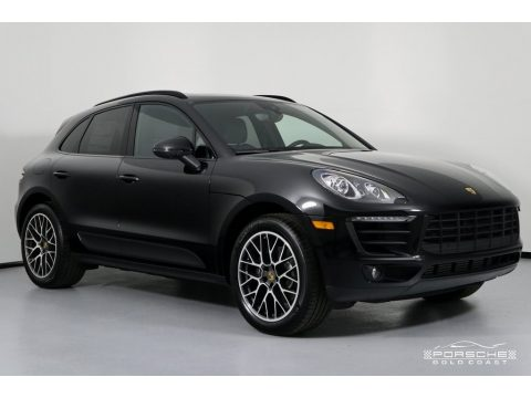 Black Porsche Macan Sport Edition.  Click to enlarge.