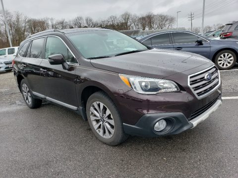 Brilliant Brown Pearl Subaru Outback 2.5i Touring.  Click to enlarge.