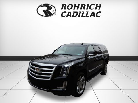 Black Raven Cadillac Escalade ESV Luxury 4WD.  Click to enlarge.