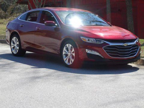 Cajun Red Tintcoat Chevrolet Malibu Premier.  Click to enlarge.