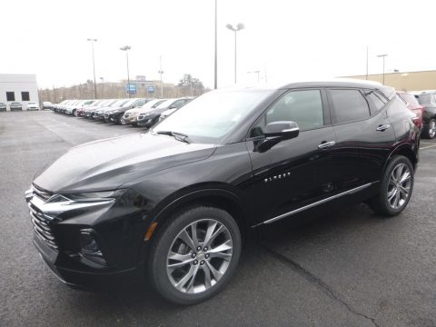 Black Chevrolet Blazer Premier AWD.  Click to enlarge.