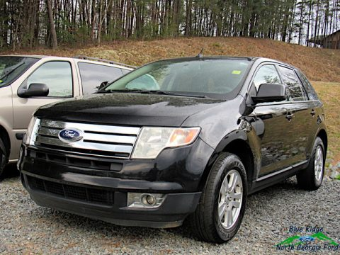 Black Ford Edge SEL Plus.  Click to enlarge.
