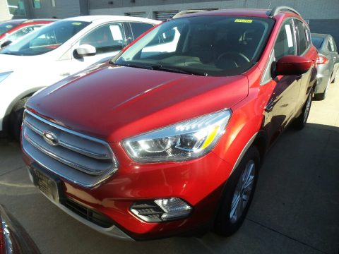 Ruby Red Ford Escape SEL.  Click to enlarge.