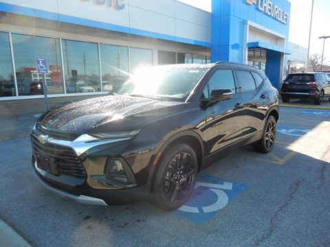 Black Chevrolet Blazer 3.6L Leather AWD.  Click to enlarge.