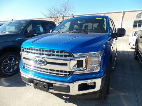 Velocity Blue Ford F150 XLT SuperCrew 4x4.  Click to enlarge.