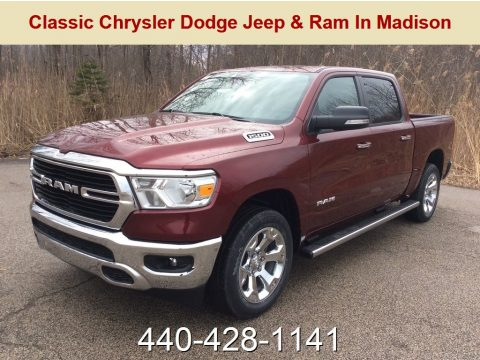 Delmonico Red Pearl Ram 1500 Big Horn Crew Cab 4x4.  Click to enlarge.