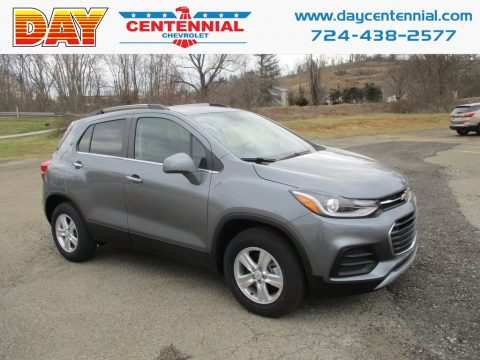 Nightfall Gray Metallic Chevrolet Trax LT AWD.  Click to enlarge.