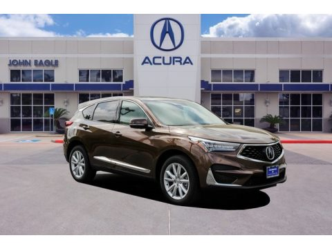 Canyon Bronze Metallic Acura RDX AWD.  Click to enlarge.