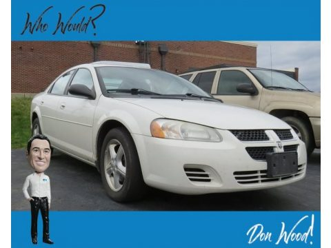 Stone White Dodge Stratus SXT Sedan.  Click to enlarge.