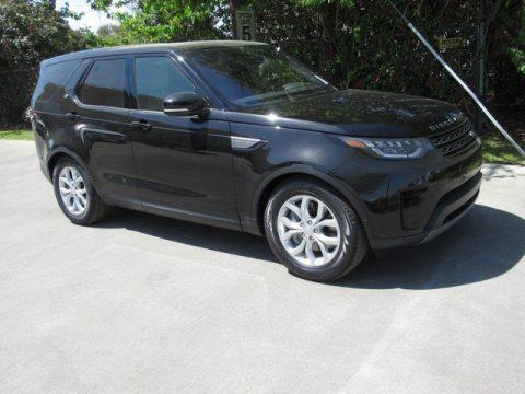 Santorini Black Metallic Land Rover Discovery SE.  Click to enlarge.