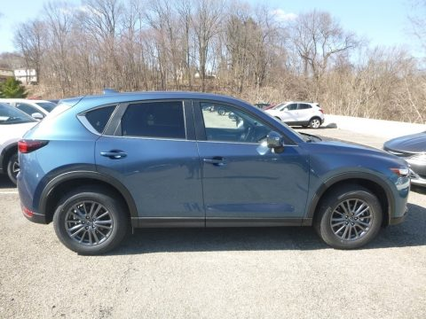 Eternal Blue Mica Mazda CX-5 Touring AWD.  Click to enlarge.