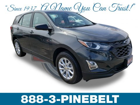 Nightfall Gray Metallic Chevrolet Equinox LS AWD.  Click to enlarge.