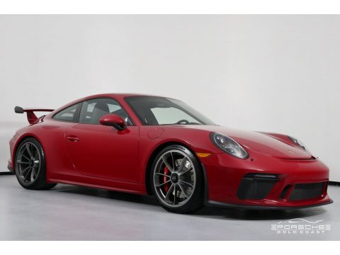 Carmine Red Porsche 911 GT3.  Click to enlarge.