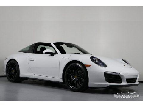 White Porsche 911 Targa 4.  Click to enlarge.