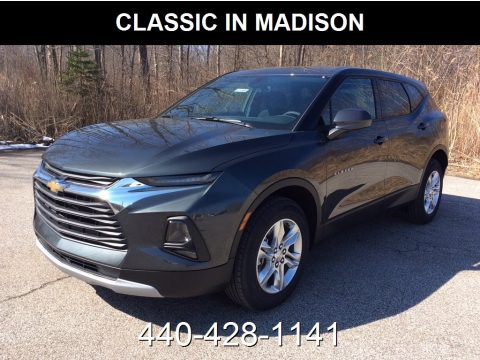 Nightfall Metallic Chevrolet Blazer 3.6L Leather AWD.  Click to enlarge.