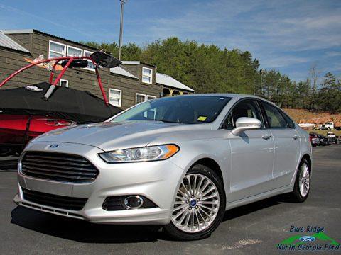 Ingot Silver Ford Fusion Titanium.  Click to enlarge.