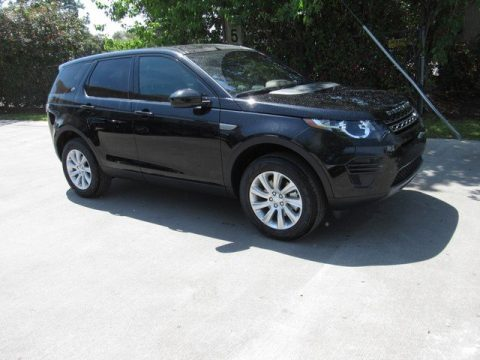 Santorini Black Metallic Land Rover Discovery Sport SE.  Click to enlarge.
