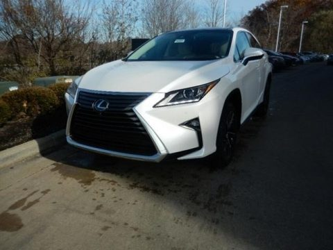 Eminent White Pearl Lexus RX 450h AWD.  Click to enlarge.