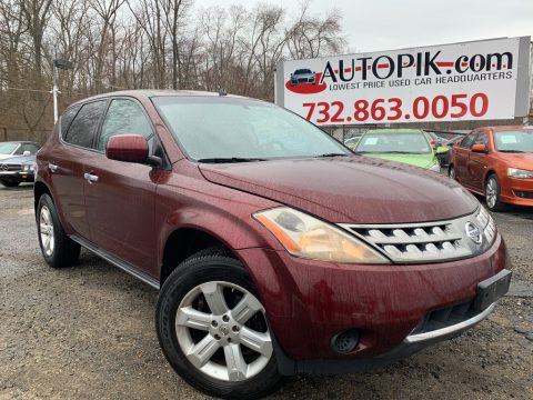 Merlot Pearl Nissan Murano S AWD.  Click to enlarge.