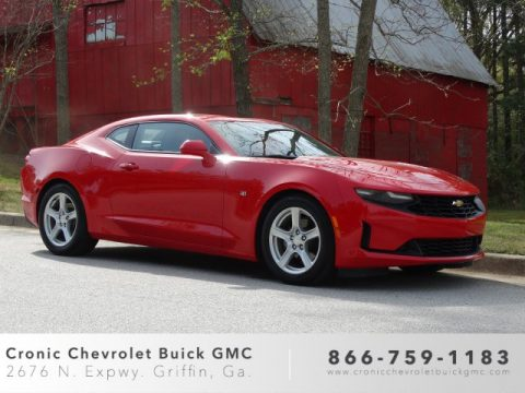 Red Hot Chevrolet Camaro LT Coupe.  Click to enlarge.