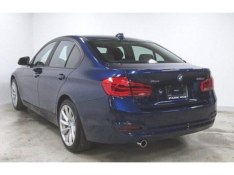 Mediterranean Blue Metallic BMW 3 Series 320i xDrive Sedan.  Click to enlarge.