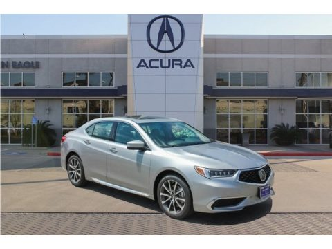 Lunar Silver Metallic Acura TLX Sedan.  Click to enlarge.