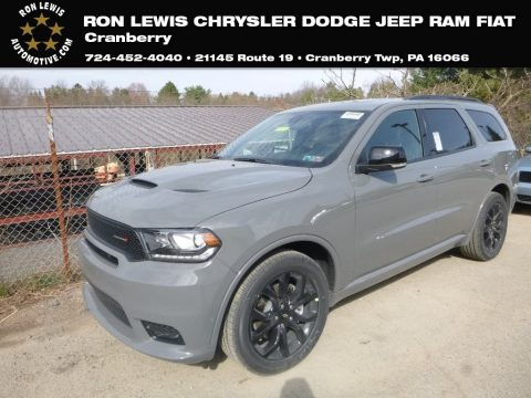 Destroyer Gray Dodge Durango R/T AWD.  Click to enlarge.
