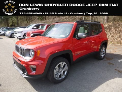 Colorado Red Jeep Renegade Limited 4x4.  Click to enlarge.
